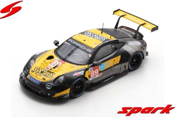"""Spark 1/43 Porsche 911 RSR No.89 Team Project 1 24H Le Mans 2020 Steve Brooks"""" - A. Laskaratos - J. Piguet"""