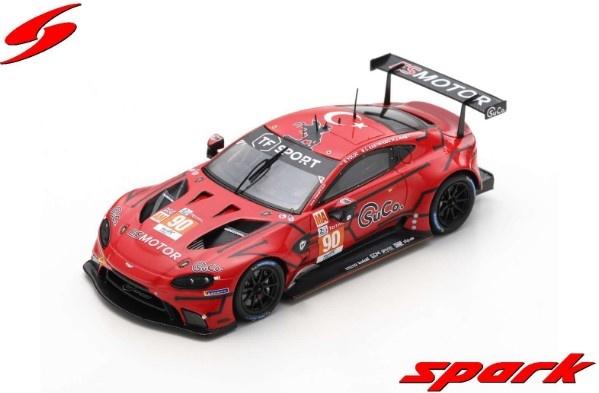 Spark 1/43 Aston Martin Vantage AMR No.90 TF Sport Winner LMGTE Am class 24H Le Mans 2020