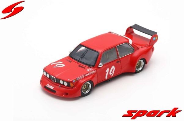 Spark 1/43 BMW 320 No.19 DRM Mainz-Finthen 1977 Karl-Heinz Becker