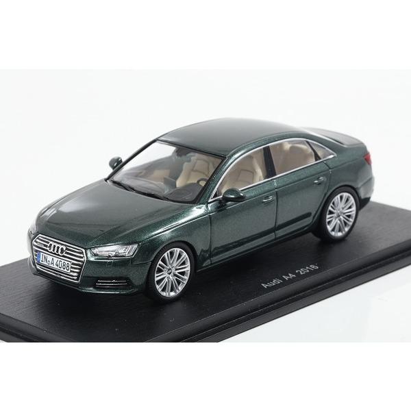 【Spark】 1/43 Audi A4 2016 - Gotland Green