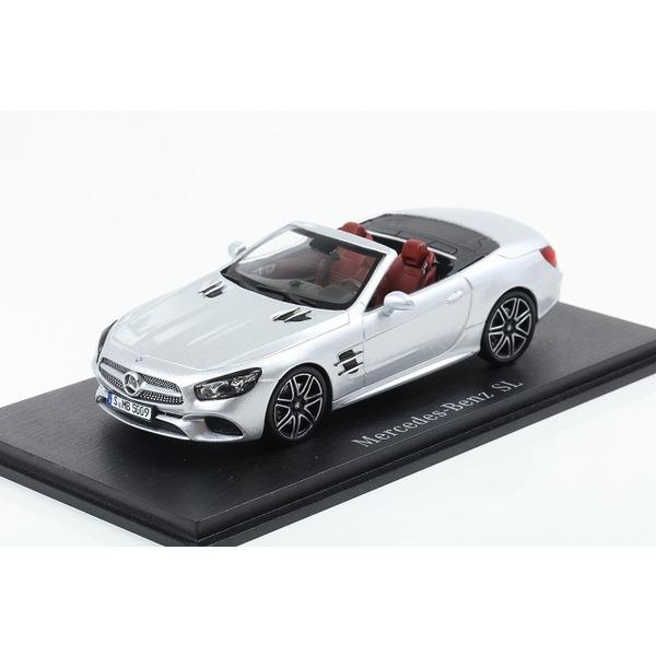 【Spark】1/43 Mercedes-Benz SL 2017 - Iridium Silver Metallic