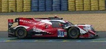 <予約 2021/12月発売予定> spark 1/43 Oreca 07 - Gibson No.31 Team WRT Winner LMP2 class 24H Le Mans 2021 R. Frijns - F. Habsburg - C. Milesi