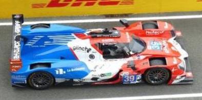 <予約 2022/3月発売予定> spark 1/43 Oreca 07 - Gibson No.39 SO24-Dirob by Graff 24H Le Mans 2021 V. Capillaire - A. Robin - M. Robin