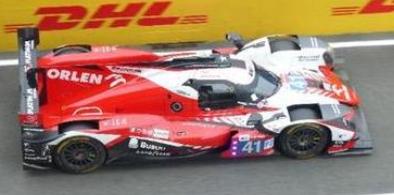 <予約 2021/12月発売予定> spark 1/43 Oreca 07 - Gibson No.41 Team WRT 24H Le Mans 2021 R. Kubica - L. Del?traz - Y. Ye