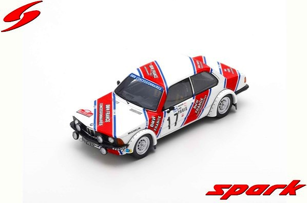 Spark 1/43 BMW 320 No.17 Gr.2 Rally Monte Carlo 1980 T. Makinen - A. Aho