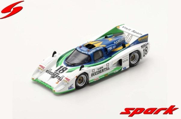 Spark 1/43 Lola T600 No.18 24H Le Mans 1981 E. de Villota - G. Edwards - J. Fernardez