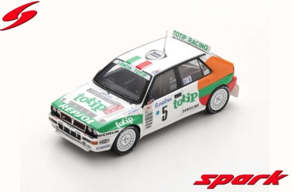 Spark 1/43 ランチア デルタ HF インテグラーレ EVO 1993 ラリー モンテカルロ #5 A.Aghini / S.Farnocchia