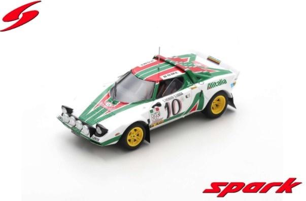 Spark 1/43 ランチア ストラトス HF 1976 ラリー モンテカルロ #10 S.ムナーリ/S.マイガ