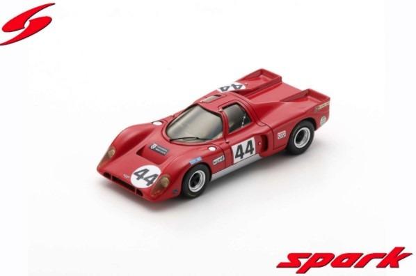 Spark 1/43 Chevron B16 BMW No.44 24H Le Mans 1970 C. Baker - D. Martland