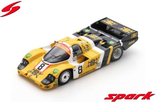 Spark 1/43 Porsche 956 No.8 24H Le Mans 1984 J. L. Schlesser - M. de Narvaez - S. Johansson