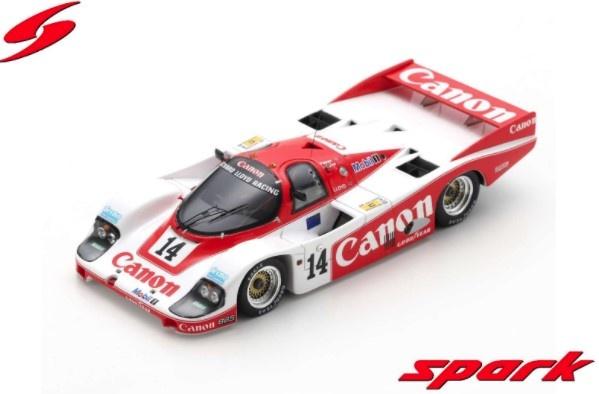 Spark 1/43 Porsche 956 No.14 2nd 24H Le Mans 1985 J. Palmer - J. Weaver - R. Lloyd
