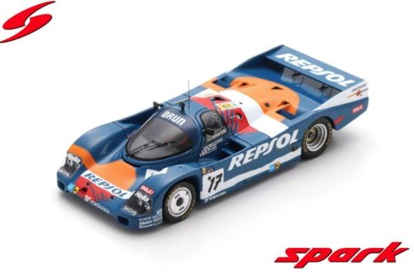 Spark 1/43 Porsche 962C No.17 24H Le Mans 1989 O. Larrauri - W. Brun - J. Pareja