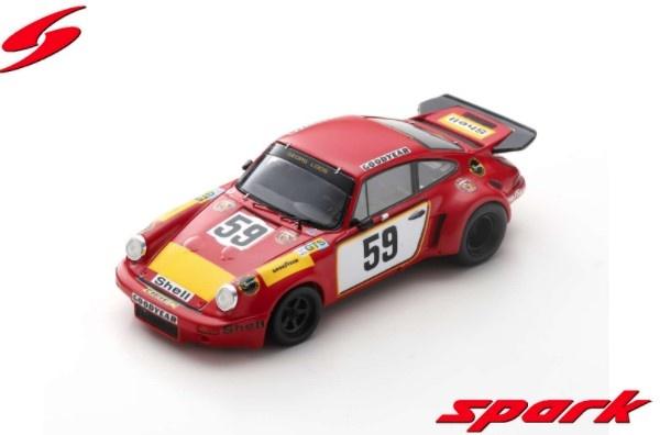 Spark 1/43 Porsche 911 Carrera RSR No.59 24H Le Mans 1975 T. Schenken - H. Ganley
