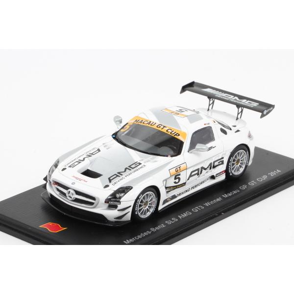 【スパーク】 1/43 メルセデスベンツ SLS AMG GT3 n.5 Winner Macau GP GT Cup 2014 *限定750台