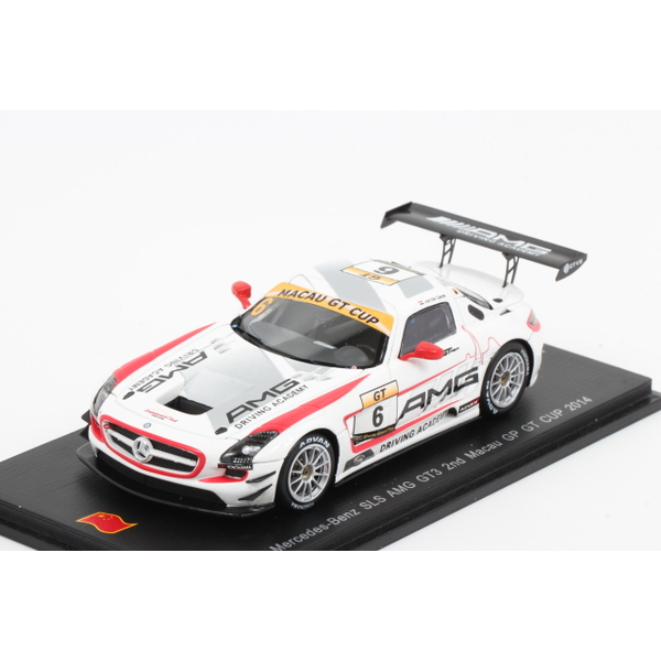 【スパーク】 1/43 メルセデスベンツ SLS AMG GT3 n.6 2nd Macau GP GT Cup 2014 *限定500台