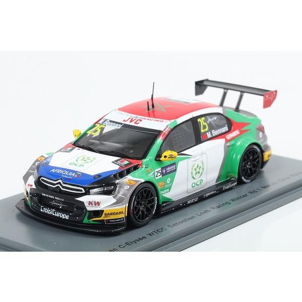 【スパーク】 1/43 Citroen C-Elysee WTCC No.25 Sebastien Loeb Racing Winner Rd.1 Macau Guia Race 2017 Mehdi Bennani