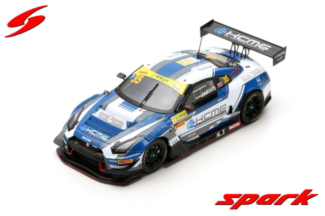 【spark】 1/43 NISMO GT-R GT3 NO.35 KCMG FIA GT WORLD CUP MACAU 2018 OLIVER JARVIS LIMITED 500
