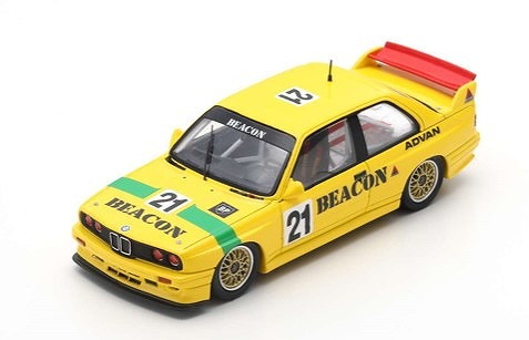 "Spark 1/43 BMW E30 No.21 ""Thunderbolt"" 1995"