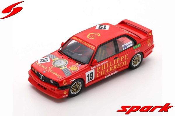 Spark 1/43 BMW M3 No.19 Macau Guia Race 1991 Henry Lee Jr.