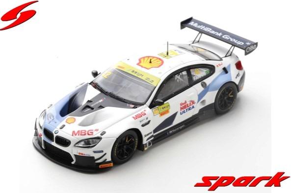 Spark 1/43 BMW M6 GT3 No.42 BMW Team Schnitzer FIA GT World Cup Macau 2019 A.Farfus Limited 300