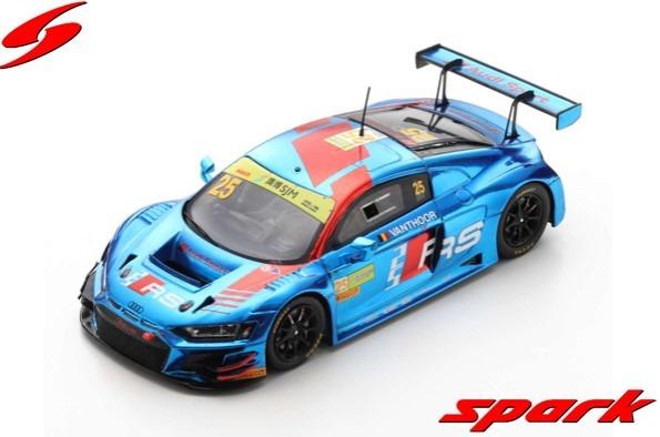 Spark 1/43 Audi R8 LMS No.25 Audi Sport Team WRT FIA GT World Cup Macau 2019D.Vanthoor Limited 300