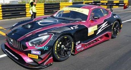 予約 Spark 1/43 Mercedes-AMG GT3 No.7 Zun Motorsport Crew FIA GT World Cup Macau 2019 Adderly Fong