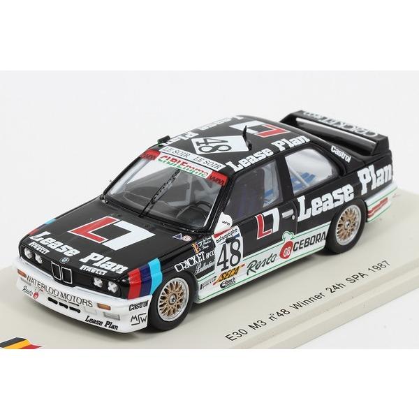 【スパーク】 1/43 BMW E30 M3 No.48 Winner 24h SPA 1987  E. Van de Poele - J. M. Martin - D. Theys ※限定750台