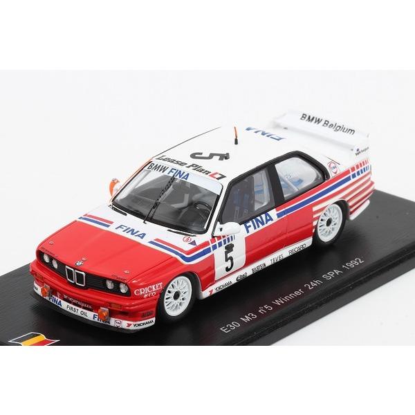 【スパーク】 1/43 BMW E30 N3 No,5 Winner 24h SPA 1992 ※限定750台