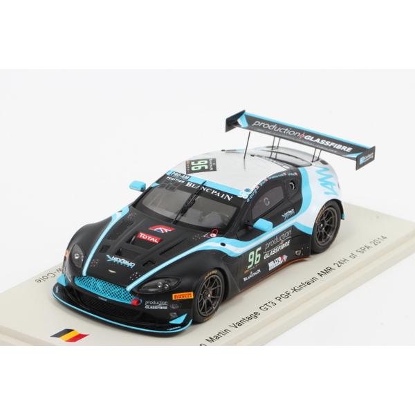 【スパーク】 1/43 Aston Martin Vantage GT3 n.96 24H SPA 2014 *限定500台