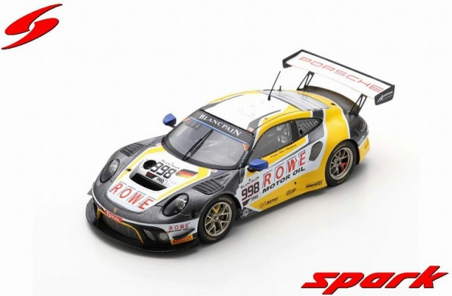 Spark 1/43 Porsche 911 GT3 R No.998 ROWE Racing 2nd 24H Spa 2019 F. Makowiecki - P. Pilet - N. Tandy