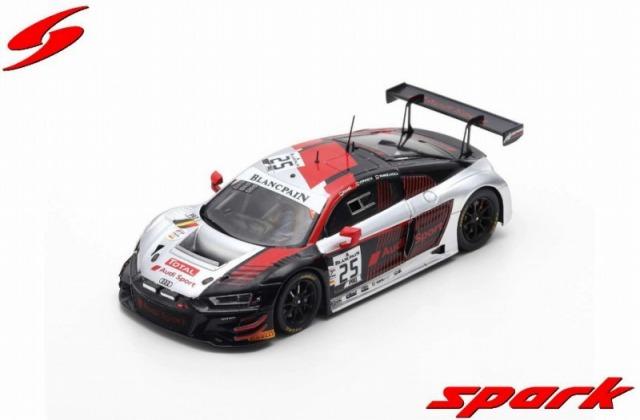 Spark 1/43 Audi R8 LMS GT3 2019 No.25 Audi Sport Sainteloc Racing 4th 24H Spa 2019 Limited 500