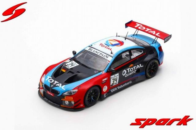Spark 1/43 BMW M6 GT3 No.34 Walkenhorst Motorsport 24H Spa 2019 M. Jensen - C. Krognes - N. Catsburg