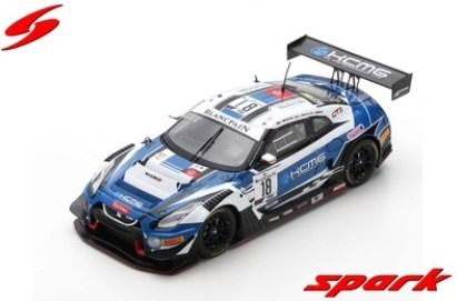 Spark 1/43 Nissan GT-R Nismo GT3 No.18 KCMG 24H Spa 2019 Limited 300