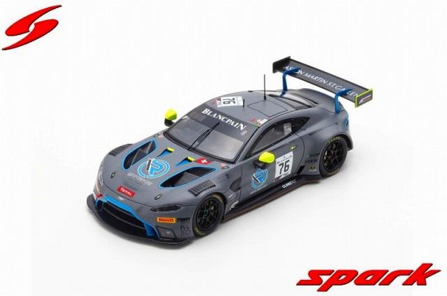 Spark 1/43 Aston Martin Vantage AMR GT3 No.76 R-Motorsport 24H Spa 2019 M. Kirchhofer - A. Lynn - J. Dennis