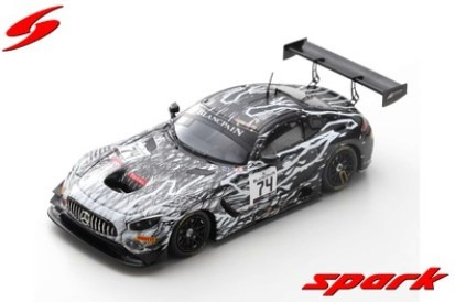 Spark 1/43 Mercedes-AMG GT3 No.74 2nd Pro-Am Cup class 24H Spa 2019 Limited 300