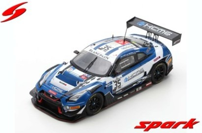 Spark 1/43 Nissan GT-R Nismo GT3 No.35 KCMG 24H Spa 2019 Limited 300