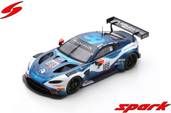 Spark 1/43 Aston Martin Vantage AMR GT3 No.188 Garage 59 24H Spa 2019