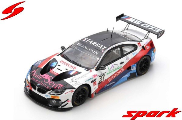 Spark 1/43 BMW M6 GT3 No.37 3Y Technology 24H Spa 2019 Limited 300