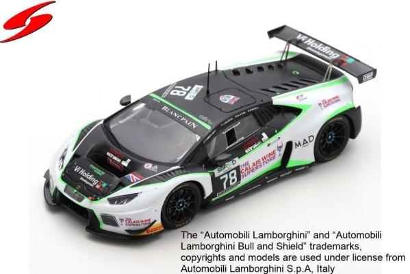 Spark 1/43 Lamborghini Huracan GT3 No.78 Barwell Motorsport 24H Spa 2016 Limited 300