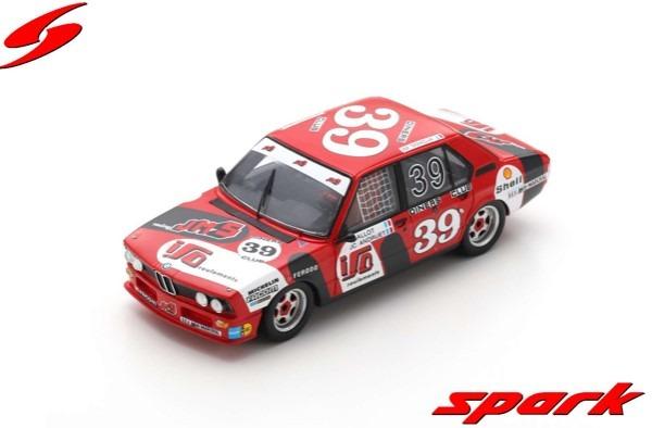 <予約> Spark 1/43  BMW 530i No.39 3rd Spa 24H 1980 C. Ballot-L?na - J-C. Andruet - J-M. Smadja