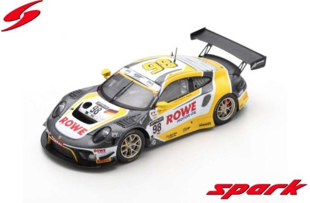 Spark 1/43 Porsche 911 GT3 R No.98 ROWE Racing Winner 24H Spa 2020 L. Vanthoor - N. Tandy - E. Bamber