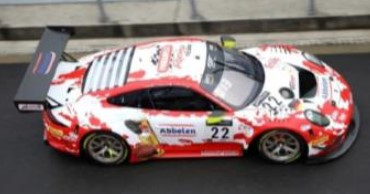 <予約 2021/4月発売予定> Spark 1/43 Porsche 911 GT3 R No.22 Frikadelli Racing Team 8th 24H Spa 2020