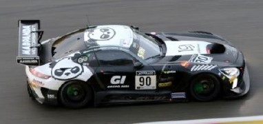 <予約 2021/4月発売予定> Spark 1/43 Mercedes-AMG GT3 No.90 Madpanda Motorsport 24H Spa 2020