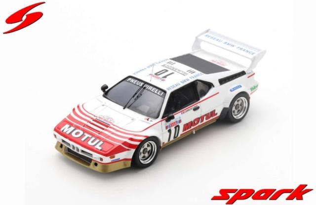 spark 1/43 BMW M1 No.10 Tour de Corse 1982Bernard Darniche - Alain Mah?