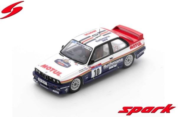 Spark 1/43 BMW M3 E30 No.10 Winner Tour de Corse Rally de France 1987 B.Beguin - Jean-Jacques Lenne Limited 600
