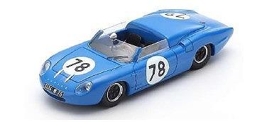 <予約> [Spark] 1/43 Alpine M63 Barquette No.78 Troph?e d'Auvergne 1963 Jos? Rosinski