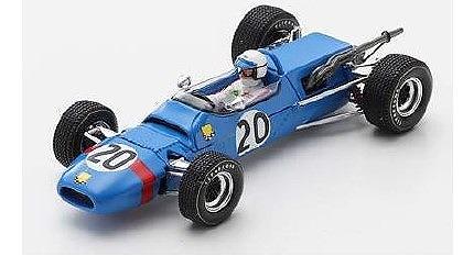 <予約> Spark 1/43  Matra MS5 No.20 3rd GP de Rouen F2 1967 Jo Schlesser