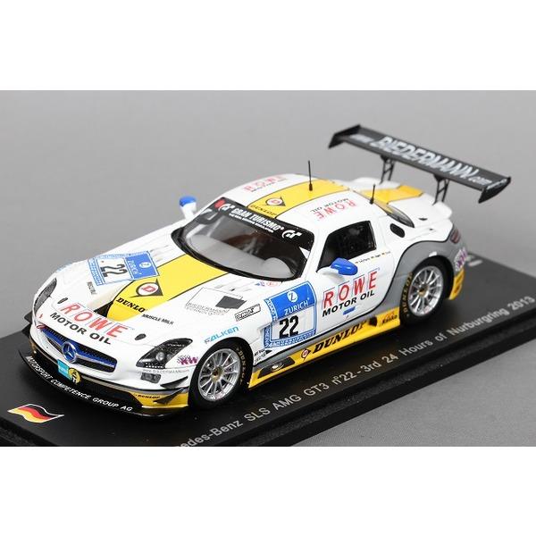【スパーク】 1/43 メルセデス ベンツ SLS AMG GT3 No,22 3位 ニュルブルクリンク 24h 2013