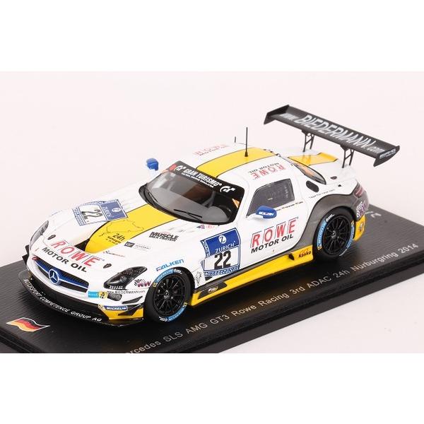 【スパーク】 1/43 メルセデスベンツ SLS AMG GT3 2014 ニュルブルクリンク 24H 3位 #22 ※限定500台