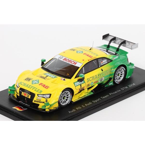 【スパーク】 1/43 アウディ RS 5 アウディ スポーツ チーム フェニックス 2014 DTM #1 ※限定500台